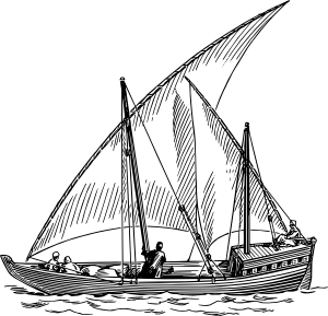 Picture of a dhow