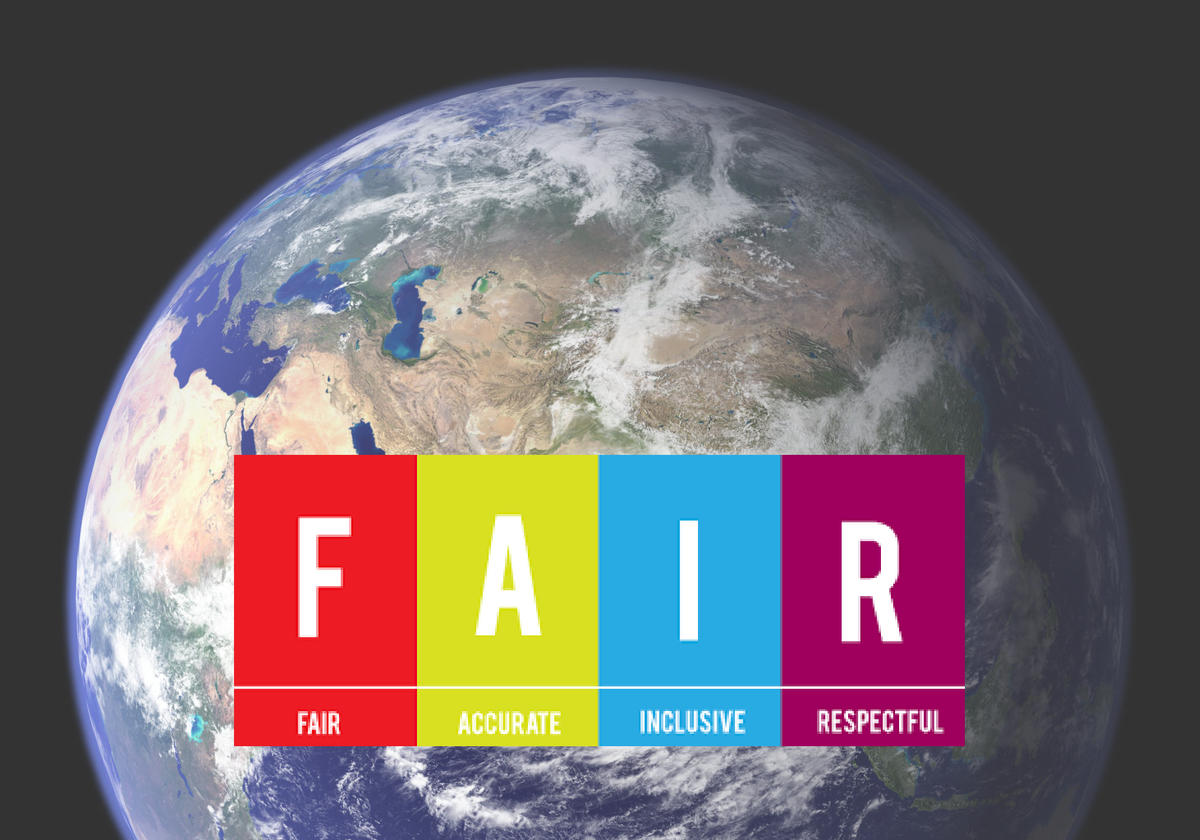 FAIR Act graphic with Earth