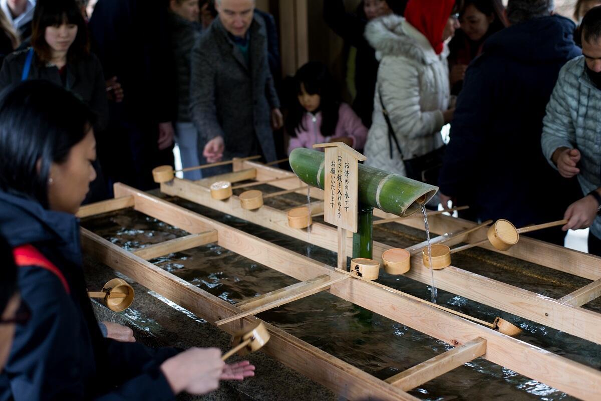 Chozuya at Meiji Shrine
