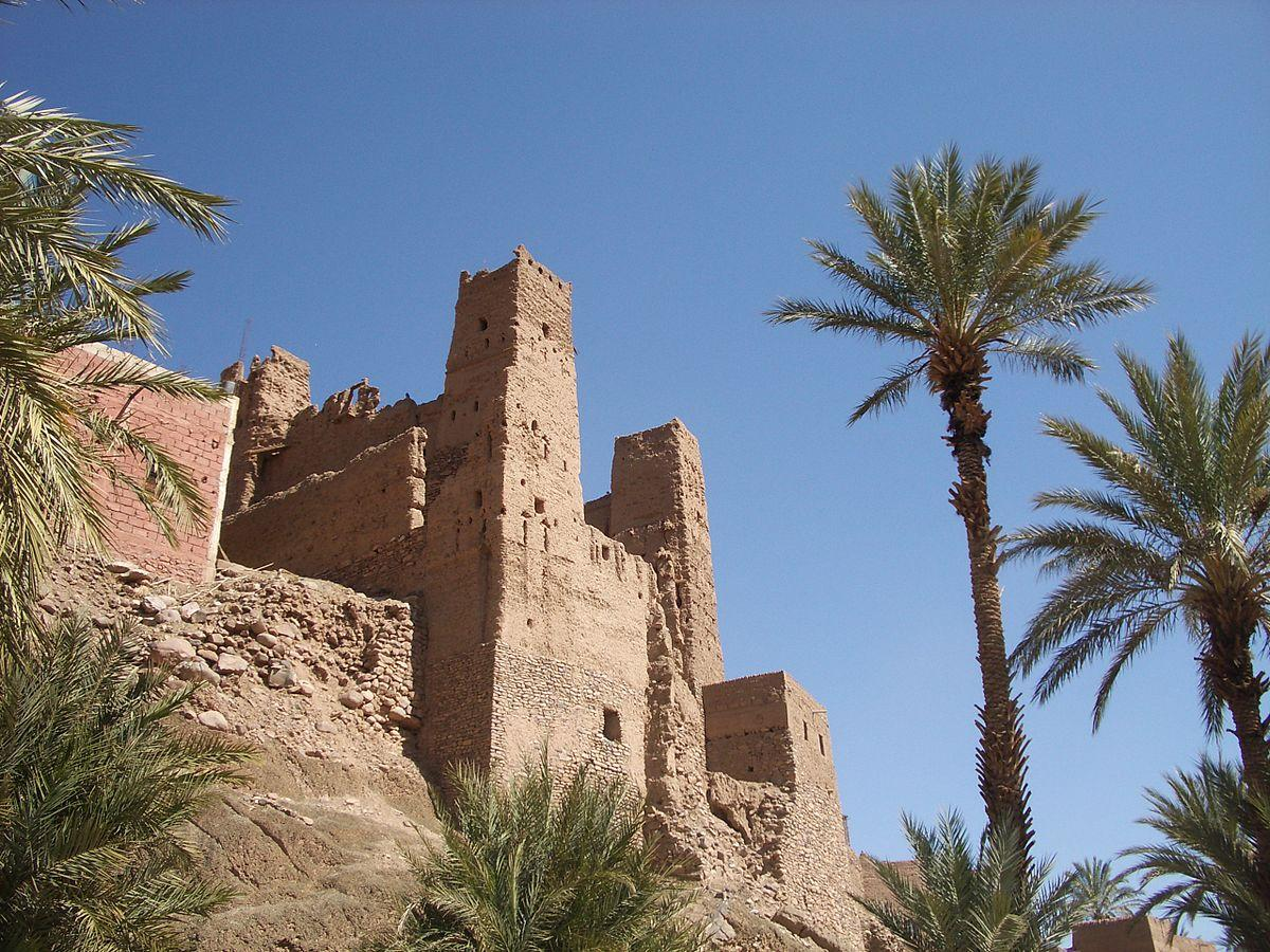 Image of buildings in Draa River Valley