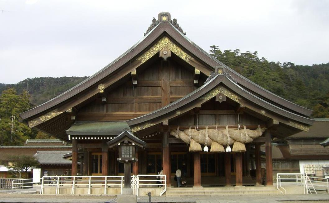 Haiden at Izumo Shrine