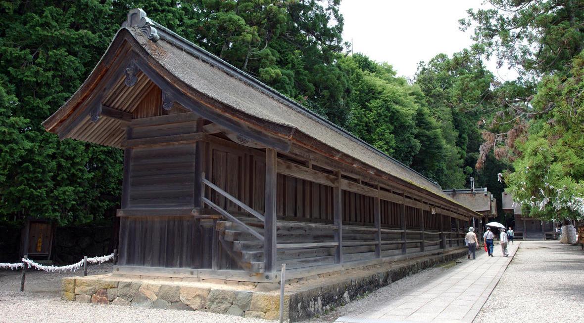 Nishi-jukusha at Izumo Shrine