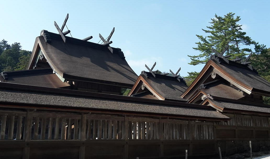 Izumo Shrine sanctuary