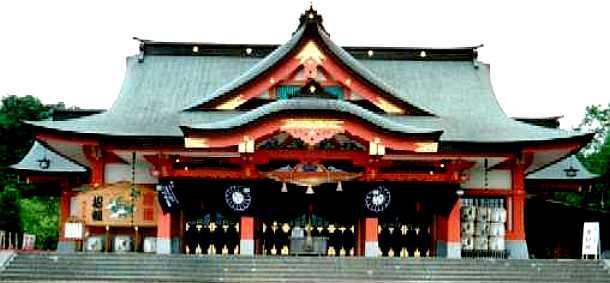 Tarumaesan Shinto shrine, Hokkaido, Japan