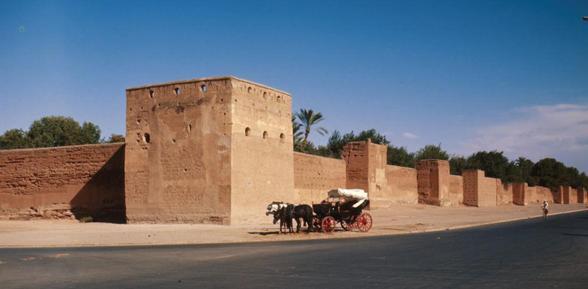 walls of Marrakesh