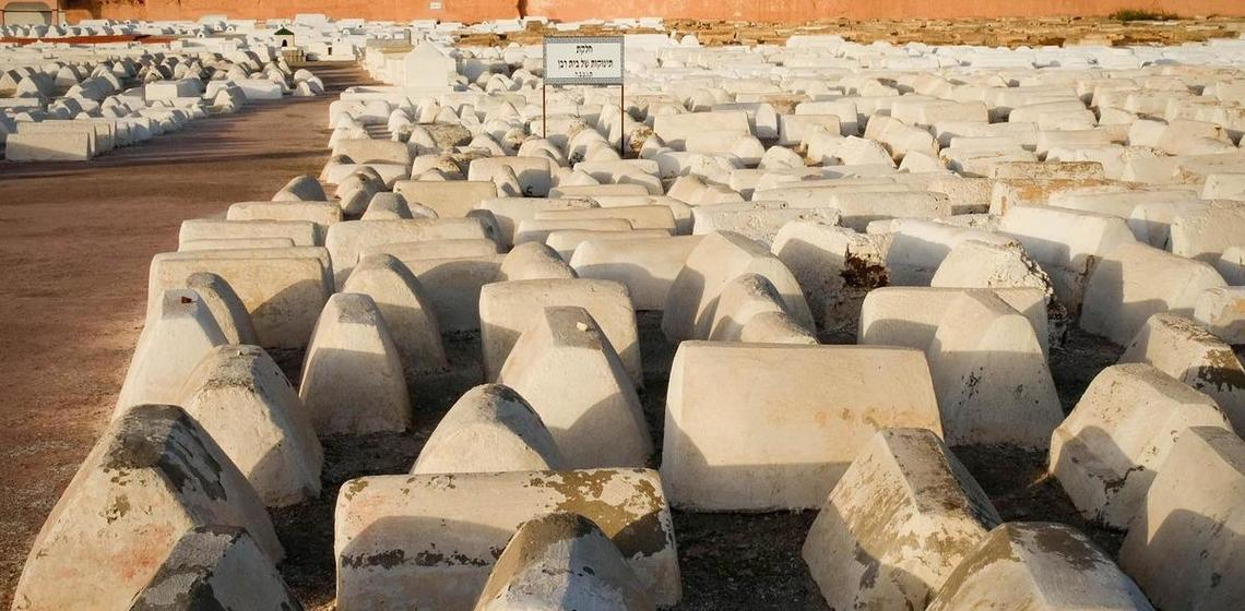 Jewish cemetery, Marrakech
