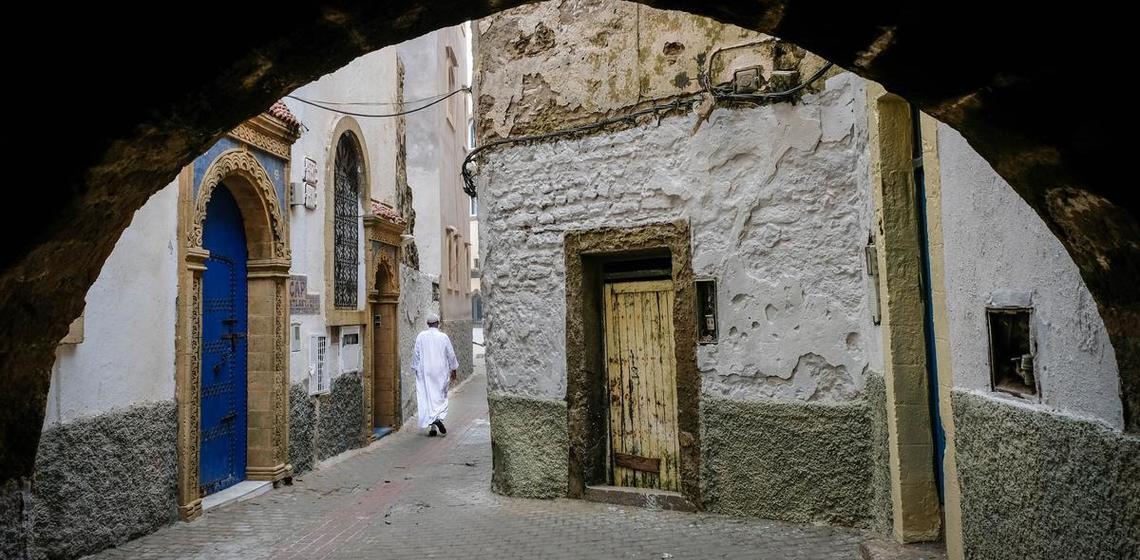 Archway, Essouira, Morocco