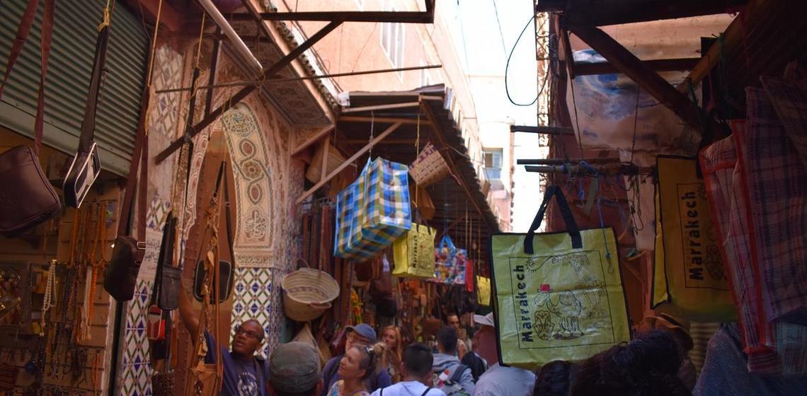 Morocco, Atlas Mtns village
