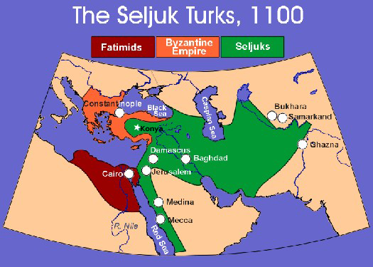 Map of Seljuk Empire