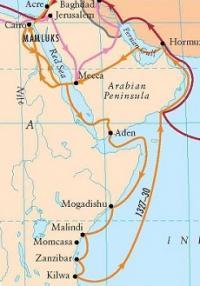 Ibn Battuta route