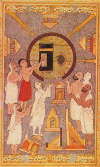 scene from life of sufi scholar