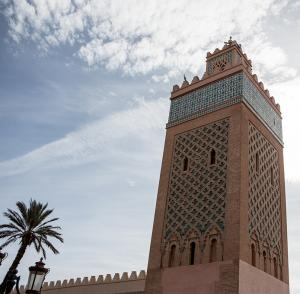 UNESCO site at Marrakech
